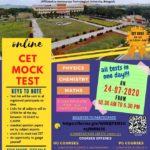 ONLINE C E T MOCK TEST On 24-07-2020